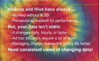 不是所有的Hadoop用户降酸
