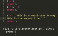 Python程序提示SyntaxError: invalid syntax错误