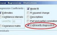 如何用SPSS检验多重共线性_spss多重共线性检验