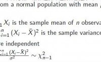 样本方差的抽样分布 χ2(n) 卡方分布_样本方差 卡方分布