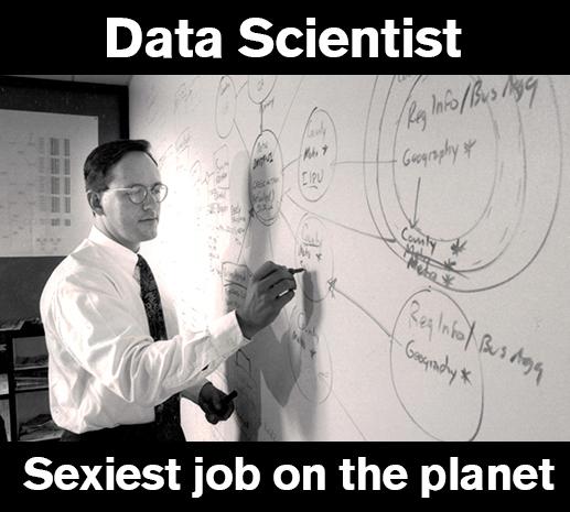 数据科学家:地球上最性感的职业