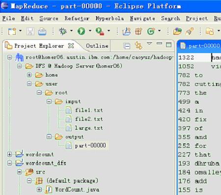 用 Hadoop 进行分布式并行编程,