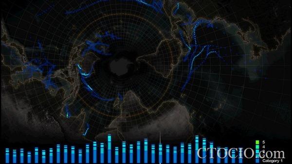 十个很酷的数据可视化项目
