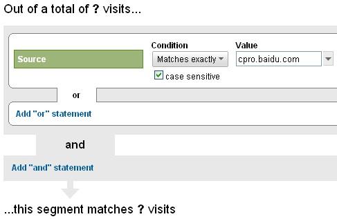 使用Google Analytics区分付费与非付费关键词