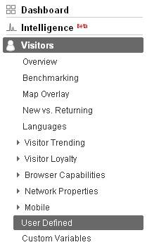 使用Google analytics细分网站流量3—细分用户流量