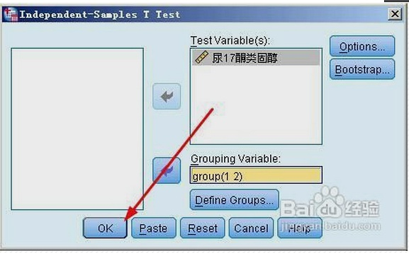 独立样本T检验如何操作和分析结果