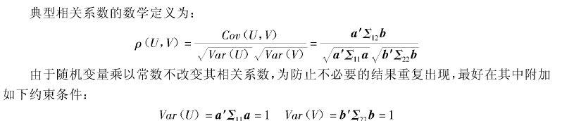 两组变量的相关分析