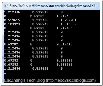 k均值聚类(K-means)_k means聚类算法_k means聚类算法实例