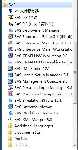 SAS9.3 32,SAS9.3 64,SAS9.4 32,SAS9.4 64 +SID 下载资源!