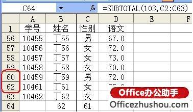 在Excel中使用频率最高的函数的功能和使用方法