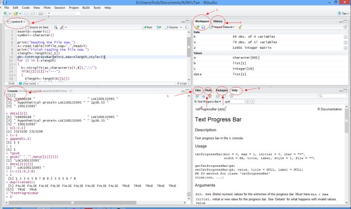 R语言 RStudio:一个试用于R语言的IDE