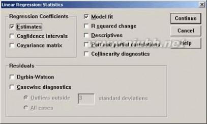 [多元回归分析]SPSS中多元回归分析实例解析
