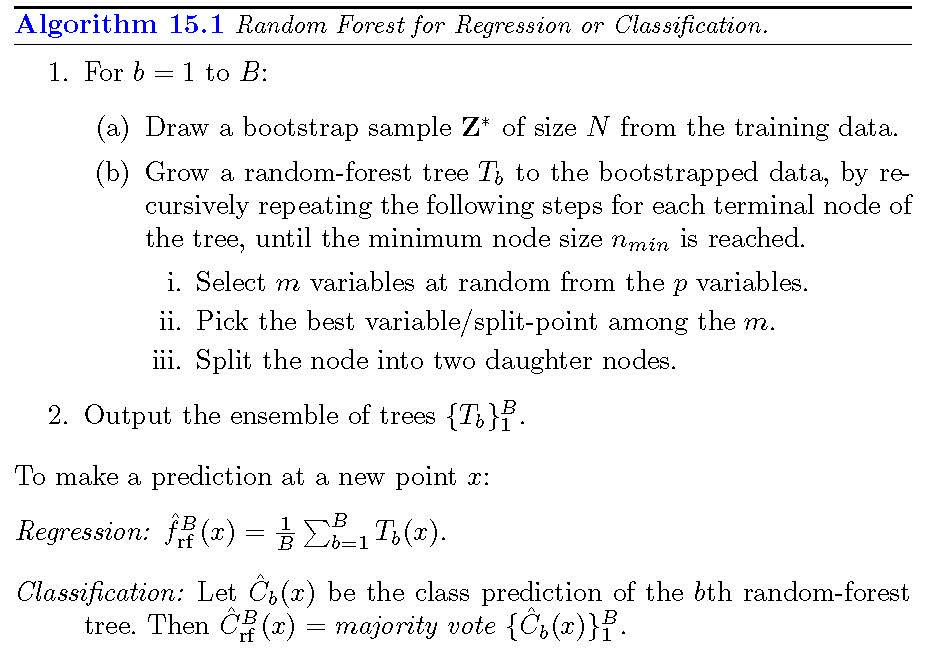 随机森林算法实现_随机森林算法 python