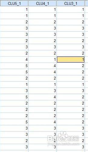 spss聚类分析如何对分类结果进行检验_spss聚类分析检验